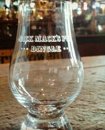 Dick Mack's Pub Whiskey Glass