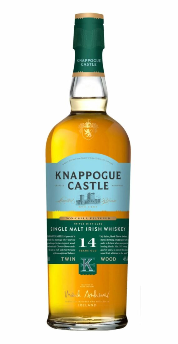 Knappogue Castle 14 Year Old Single Malt Twin Wood 50ml 1