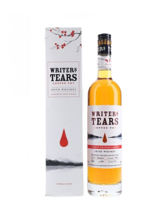 Writers Tears Mizunara Japanese Oak Cask Finish 50ml 1