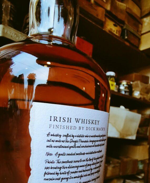 Dick Mack's 1st Official Bottling, from the Dingle Distillery 50ml Sample* 1